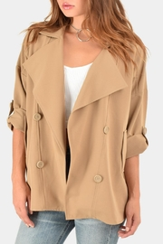 BB Dakota Genette Trench Jacket - Product Mini Image