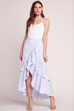 BB Dakota Gingham Maxi Skirt - Product List Image
