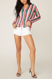 BB Dakota Hue-Are-You Striped Top - Side cropped