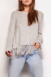 BB Dakota Jeraldine Fringe Sweater - Product Mini Image