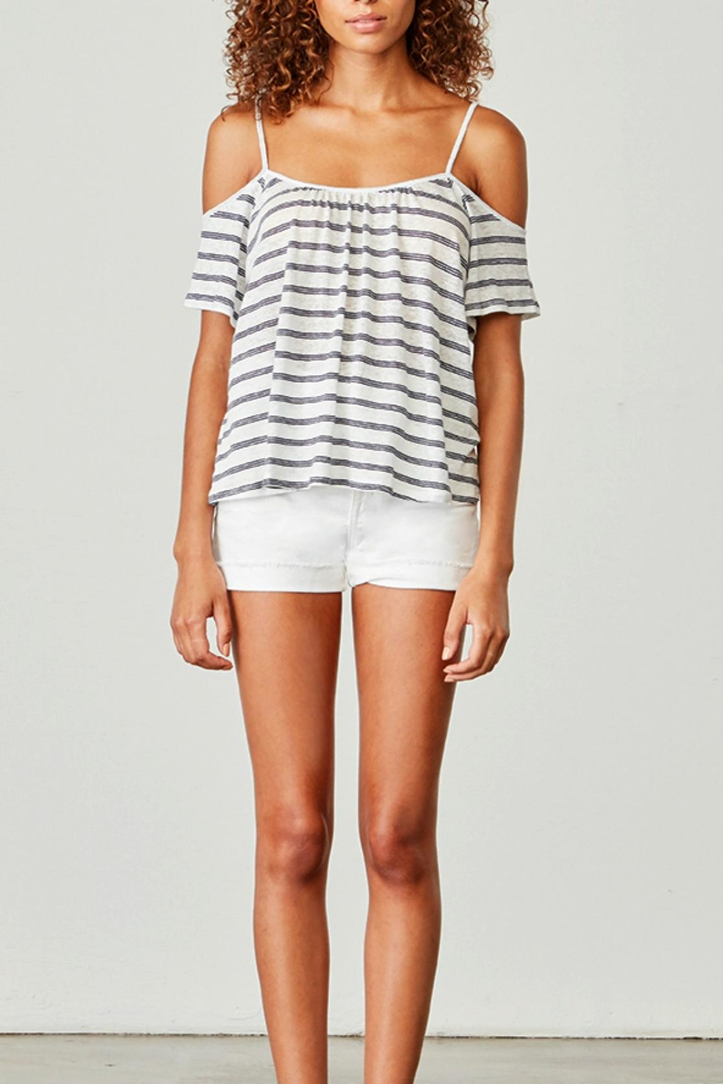 BB Dakota Keegan Striped Top - Main Image