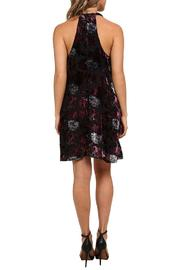 Shoptiques Product: Kenzie Velvet Dress - Side cropped