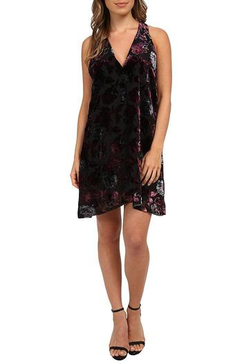 Shoptiques Product: Kenzie Velvet Dress - main