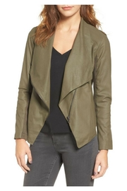 BB Dakota Leather Drape Jacket - Product Mini Image