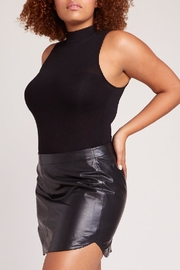 BB Dakota Leather Skirt - Front cropped