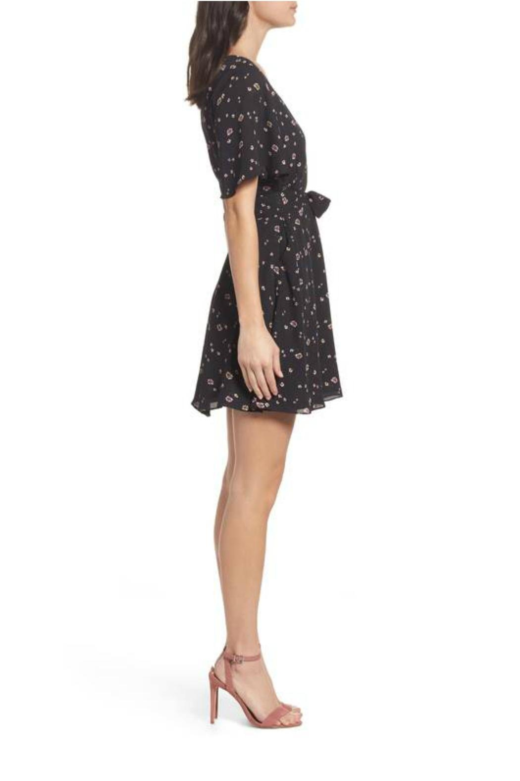 BB Dakota Lettie Floral Dress - Side Cropped Image