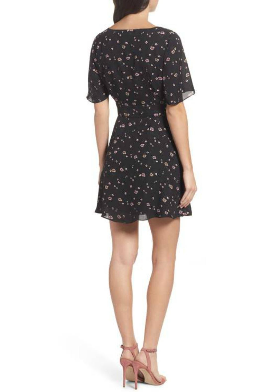 BB Dakota Lettie Floral Dress - Front Full Image
