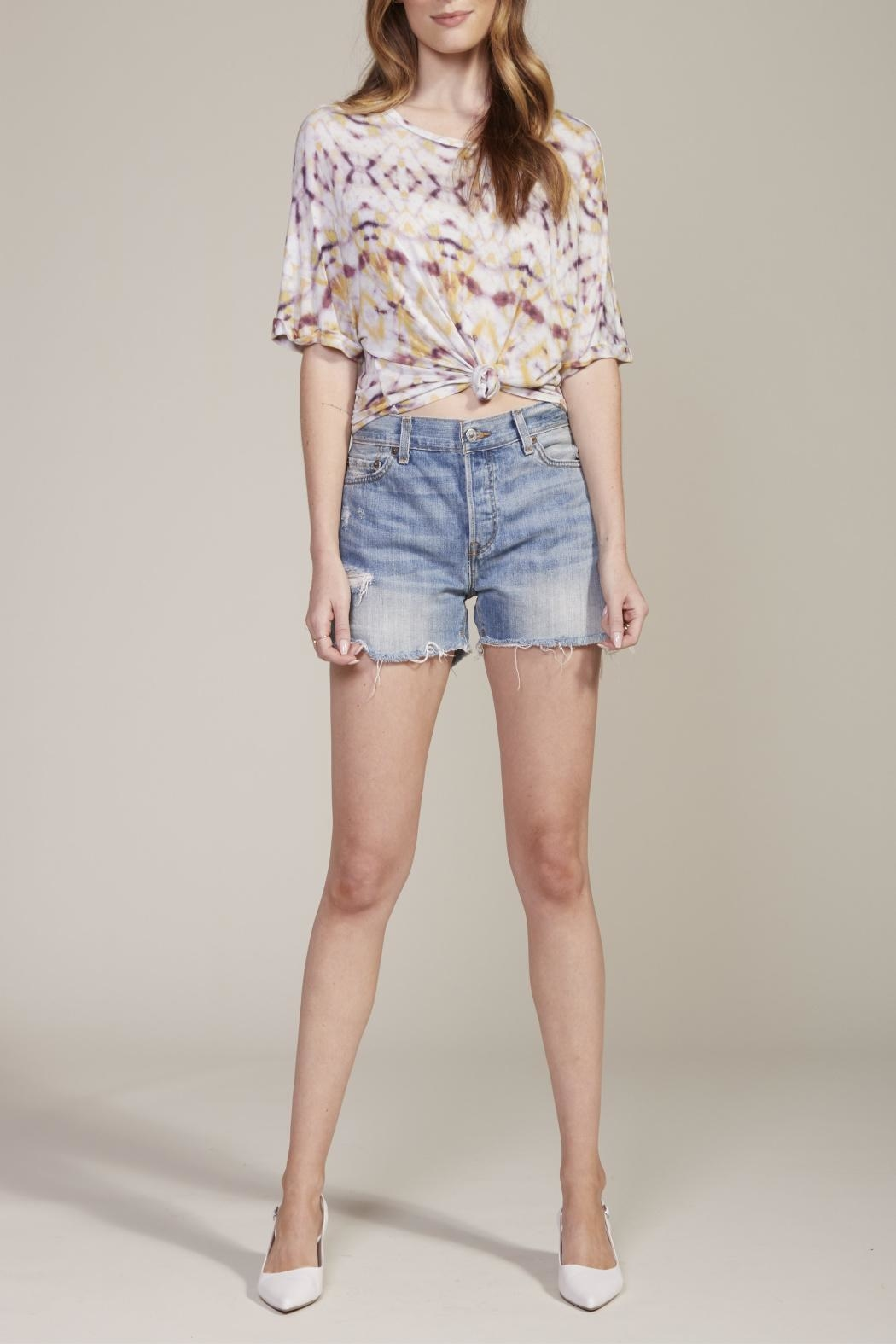 BB Dakota Lucy Sky Tee - Front Cropped Image