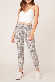BB Dakota Meow's-The-Time Cheetah Jogger - Product Mini Image