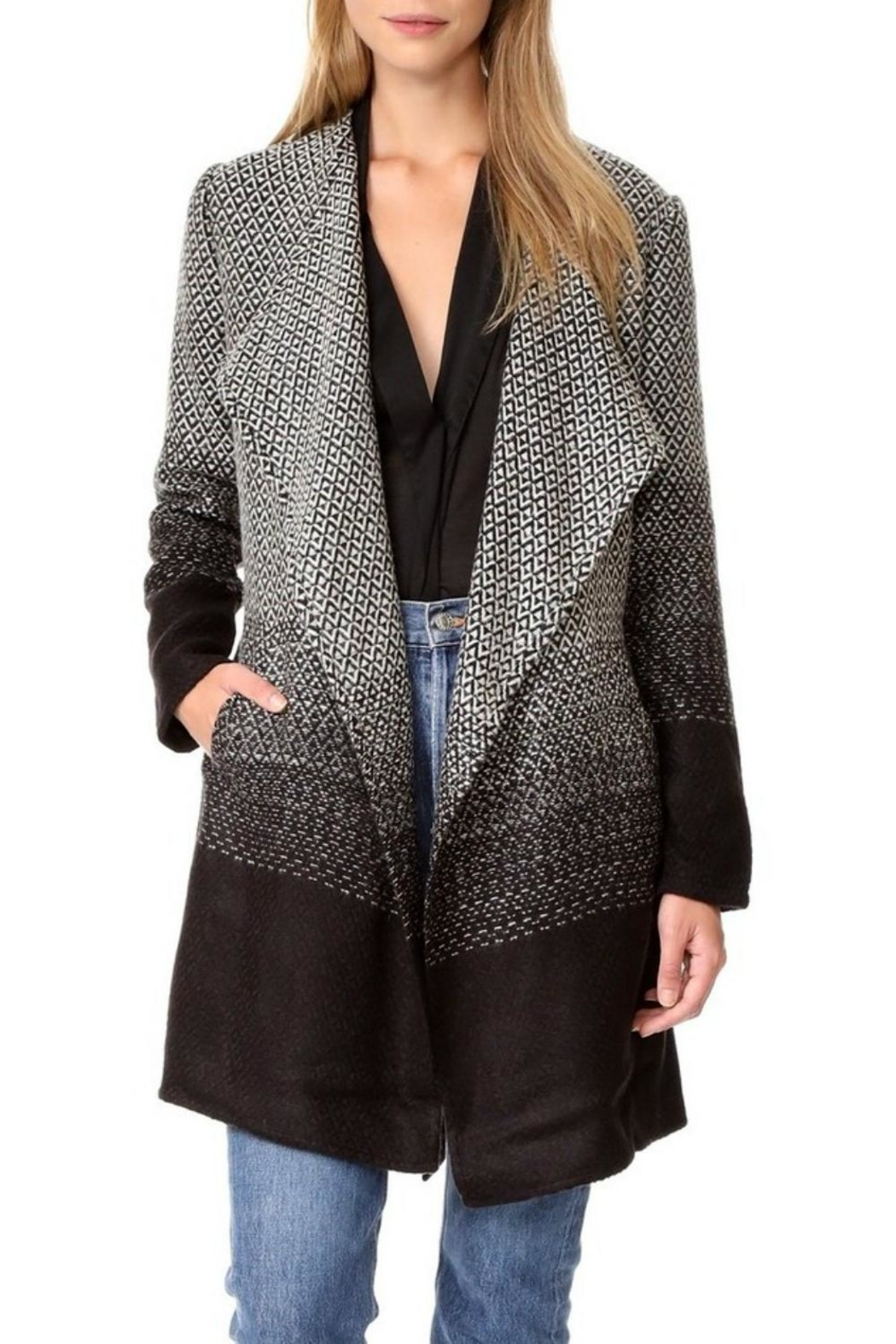 BB Dakota Myles Long Jacket - Front Cropped Image