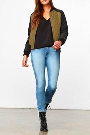 BB Dakota Olive Black Jacket - Product Mini Image