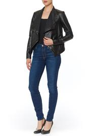 BB Dakota Peppin Draped Jacket - Front full body