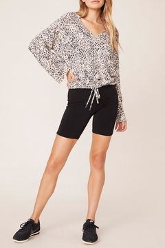 BB Dakota Purr-My-Last-Email Cheetah Sweater - Product List Image