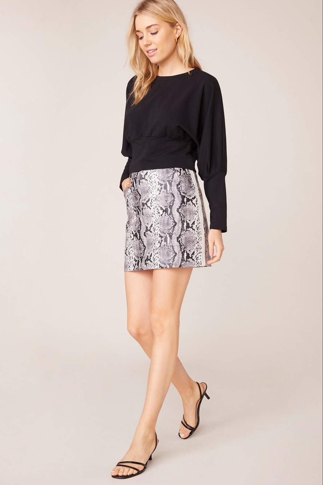 BB Dakota Python-The-Prowl Skirt - Front Cropped Image