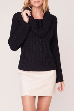 BB Dakota Ribbed Cowl-Neck Sweater - Product List Image