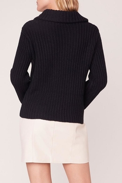 BB Dakota Ribbed Cowl-Neck Sweater - Alternate List Image