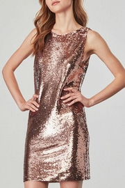 BB Dakota Rose Gold Sequin Dress - Product Mini Image