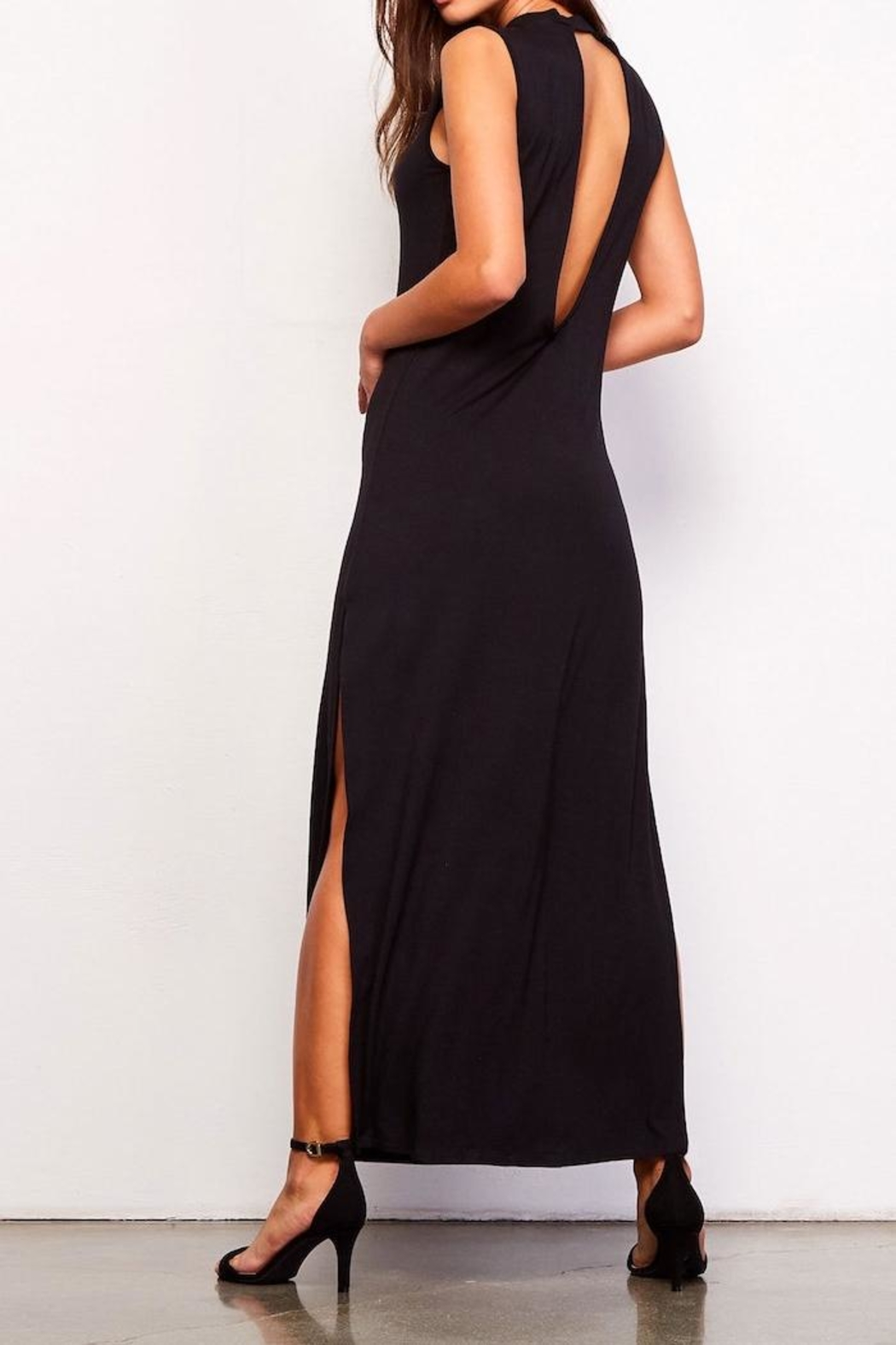 BB Dakota Sasha Midi Dress - Side Cropped Image