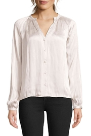 BB Dakota Attention Pleated Blouse - Front cropped
