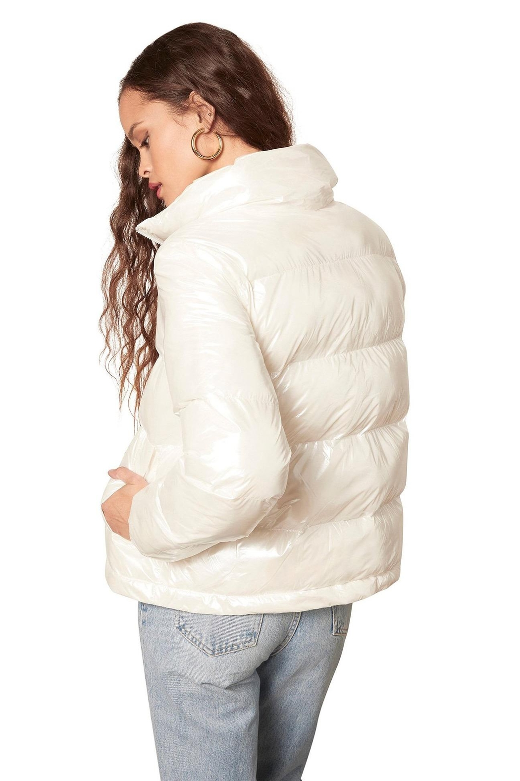 BB Dakota Snow Doubt Puffer - Front Full Image