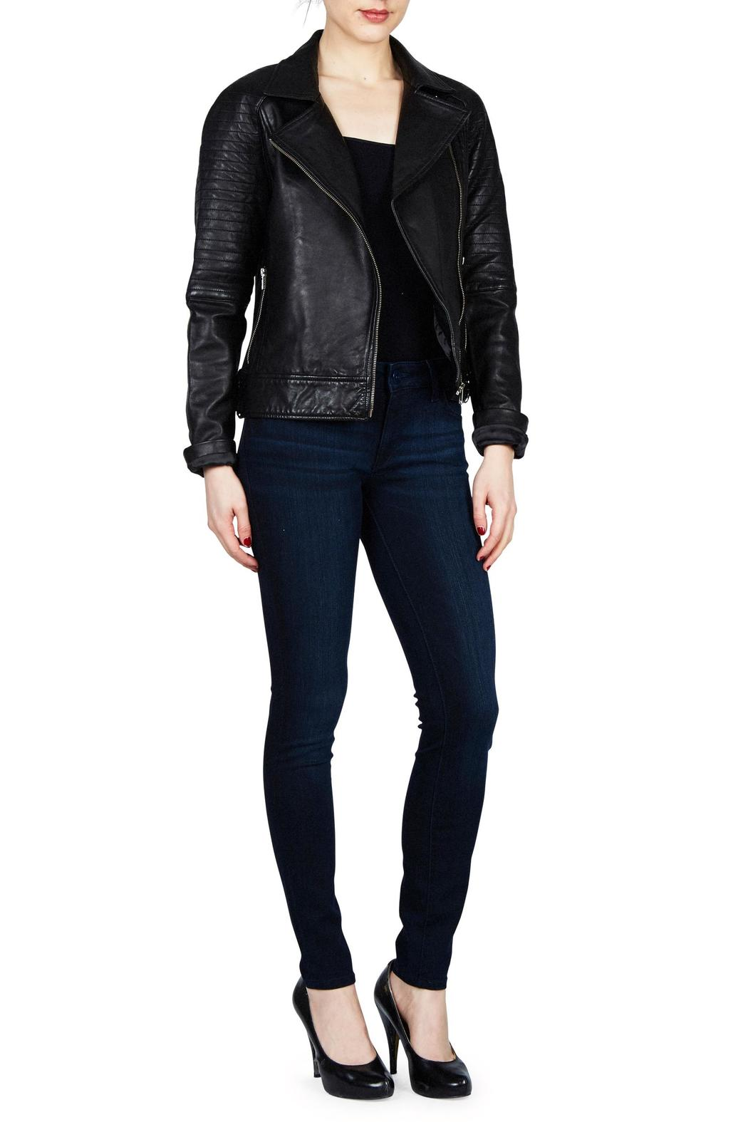 BB Dakota Stafford Leather Jacket - Main Image