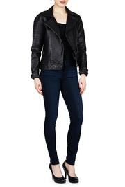Shoptiques Product: Stafford Leather Jacket  - Front cropped