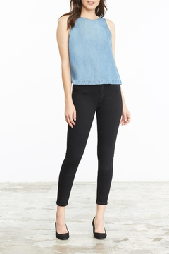 Shoptiques Product: Washed Denim Tank Top