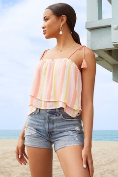 BB Dakota Tassel Tank Top - Product List Image