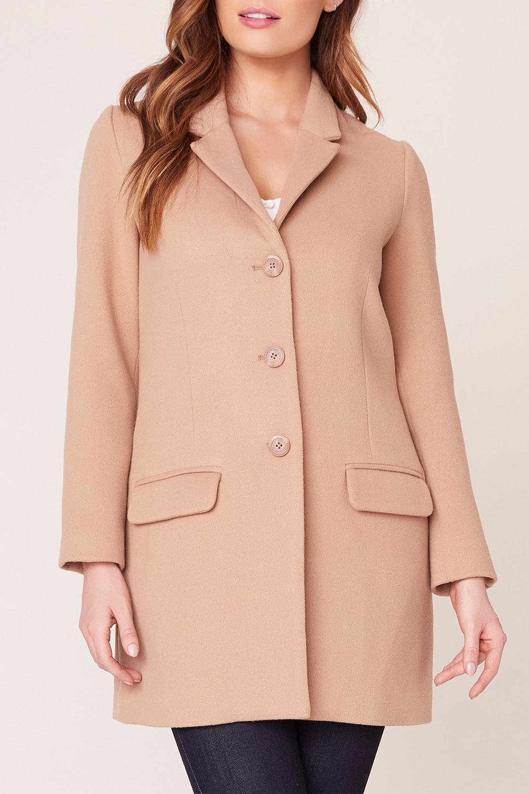 BB Dakota Whiskey Twill Coat - Main Image