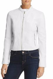 BB Dakota White Leather Jacket - Product Mini Image