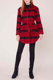 BB Dakota Wild & Wooly Plaid Coat - Product Mini Image