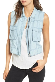 BB Dakota Xavier Chambray Vest - Product Mini Image