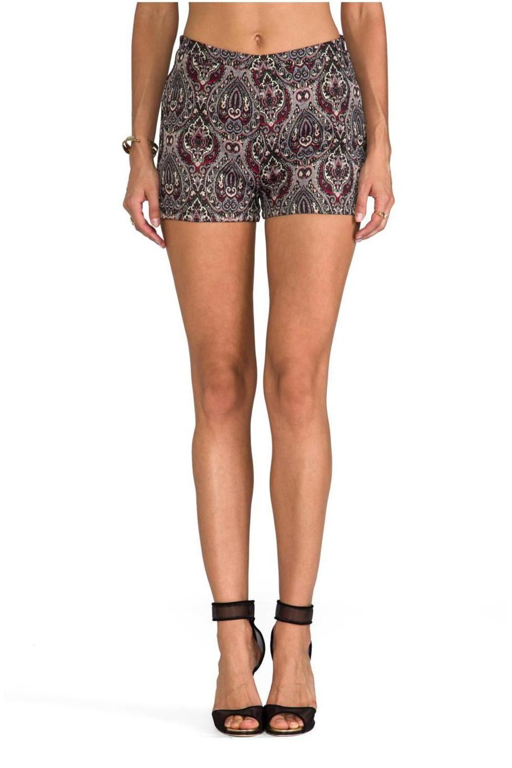 BB Dakota JACK Jovita Holiday Shorts - Side Cropped Image