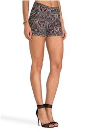BB Dakota JACK Jovita Holiday Shorts - Back cropped