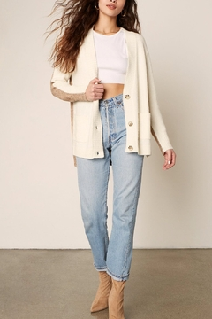 BB Dakota  BBD Extra Credit Bi-Color Cardi - Product List Image