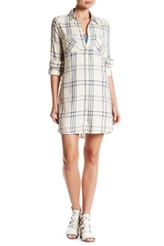 BBD Plaid Shirtdress - Front cropped