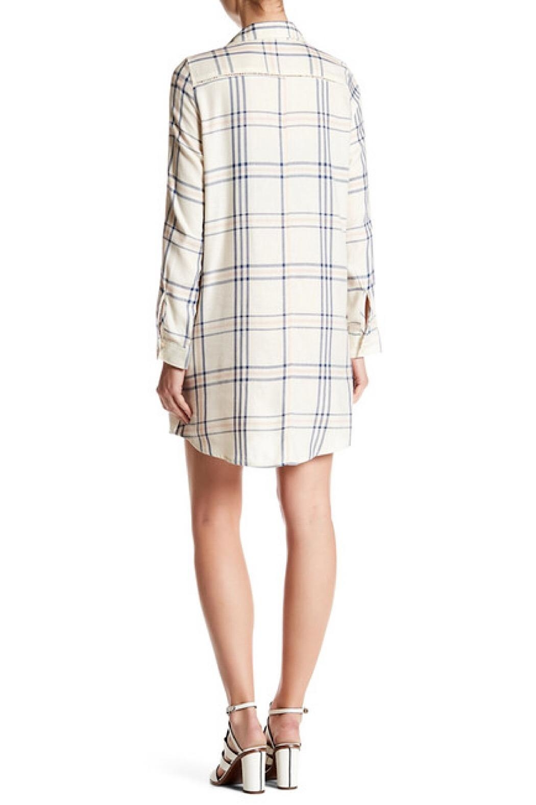 BBD Plaid Shirtdress - Front Full Image