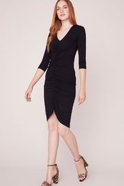 BBDakota Ruched Black Dress - Product Mini Image