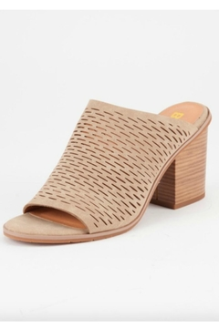 Shoptiques Product: Nude Cutout Mule