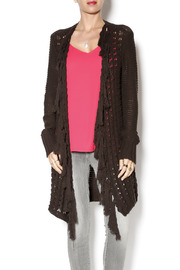 Tribal Fringe Cardigan - Product Mini Image