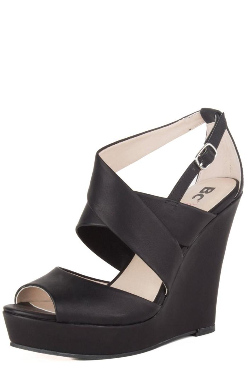 BC Footwear Flicker Wedge - Front Cropped Image