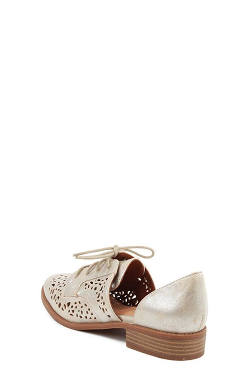 BC Footwear Happy Metallic Slip-On - Side Cropped Image
