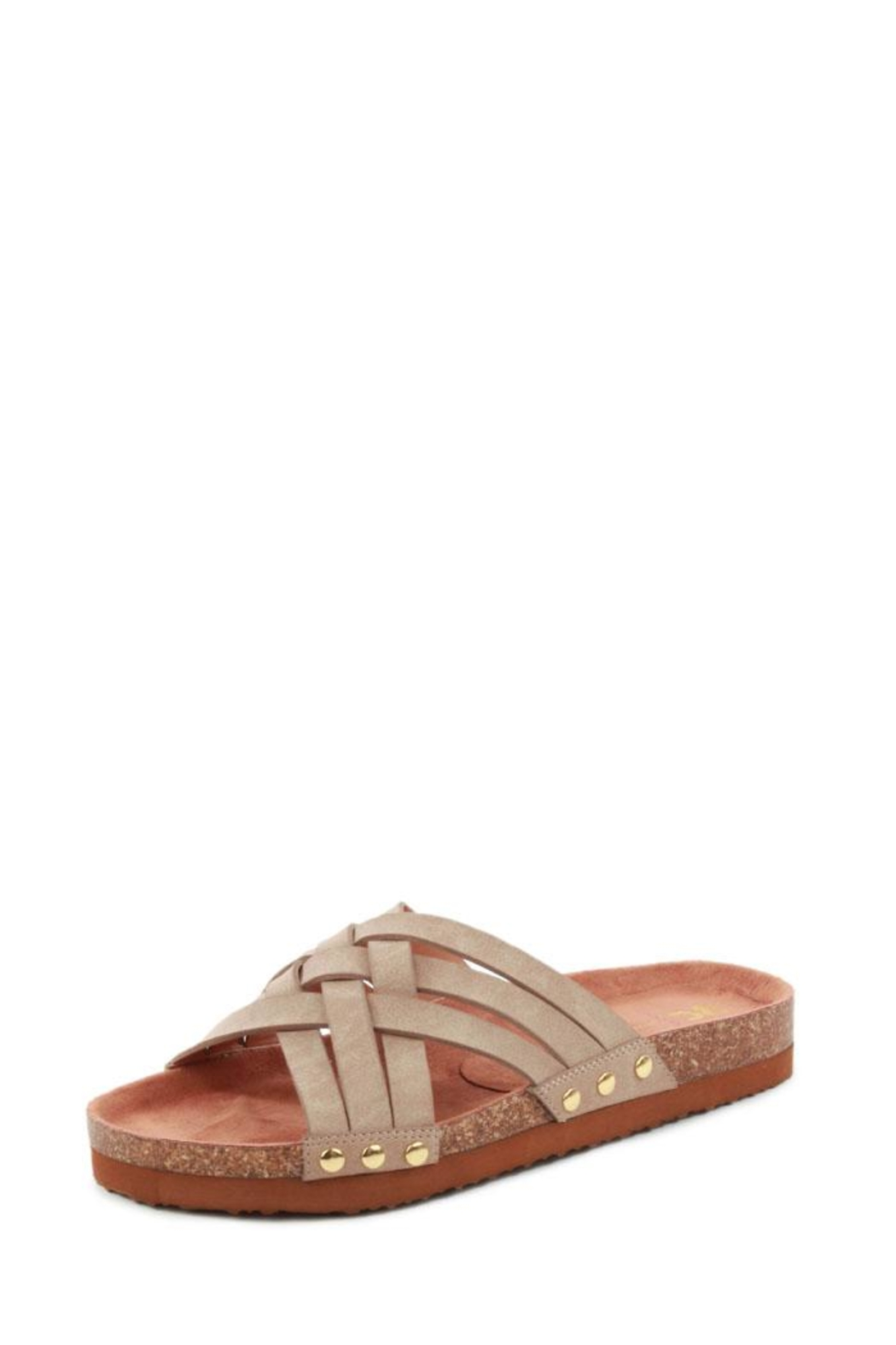 BC Footwear Its Serious Sandal - Front Cropped Image