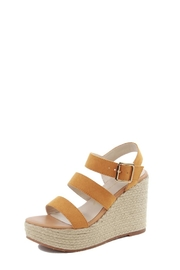 BC Footwear Mustard Wedges - Product Mini Image