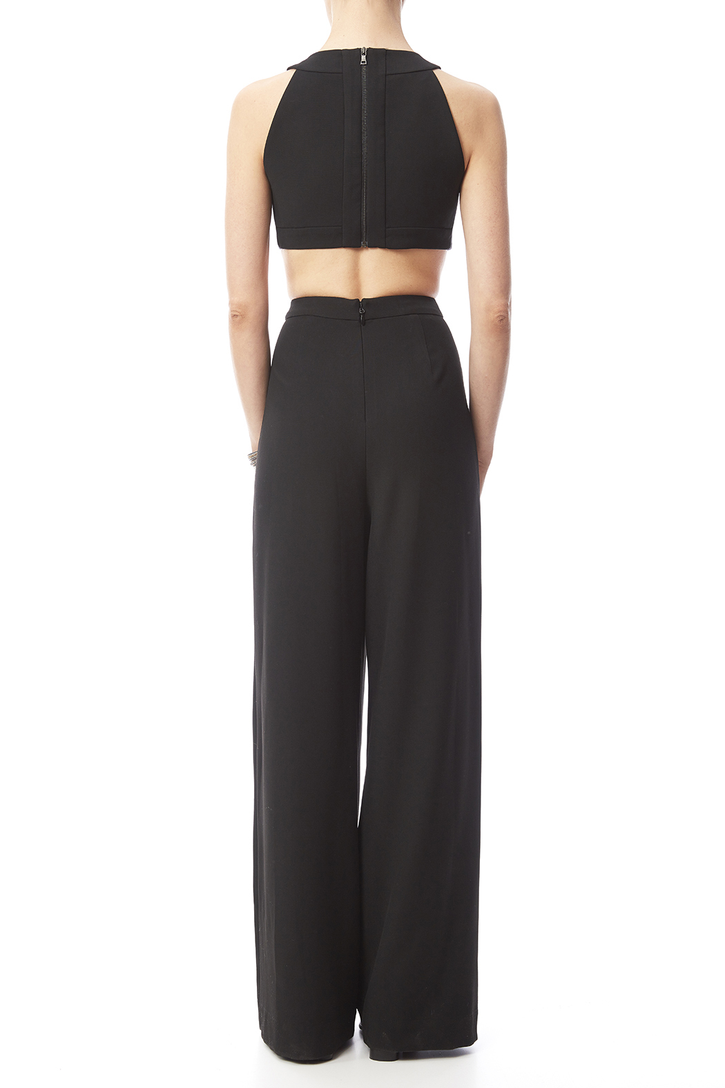 Bcbg Max Azria Black Cut Out Jumpsuit From New Jersey By
