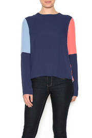 BCBG Max Azria Color-Block Top - Product Mini Image
