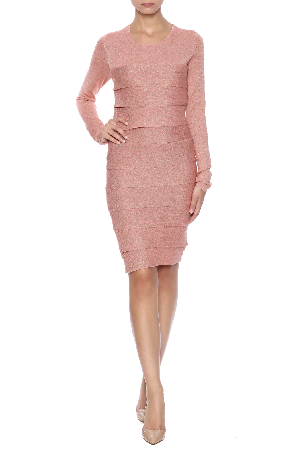 BCBG Max Azria Mariah Dress - Front Full Image