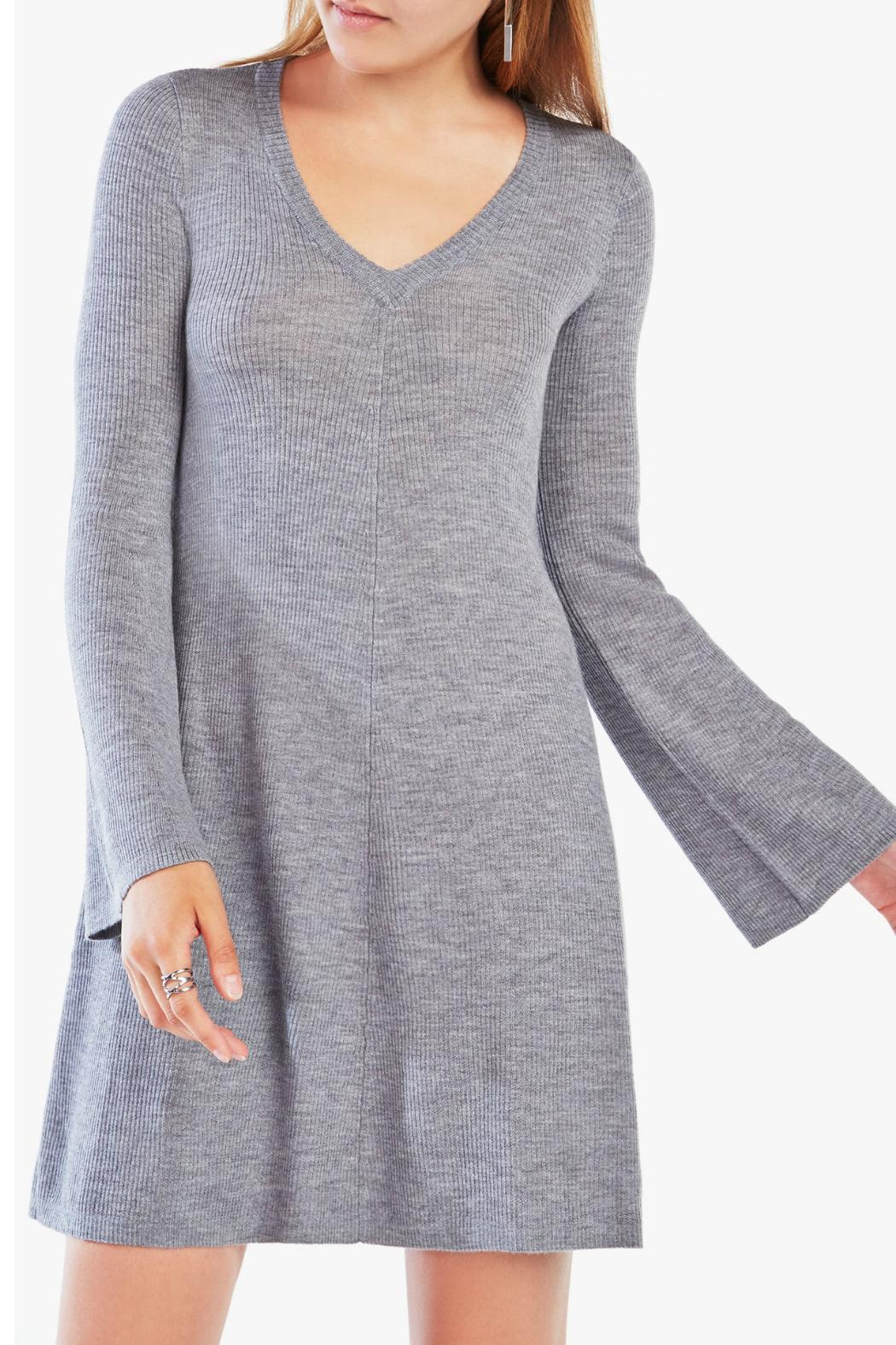 BCBG Max Azria Althea Sweater Dress - Front Full Image