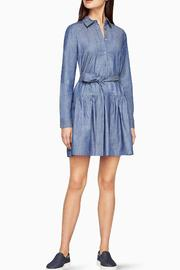 BCBG Max Azria Chambray Twill Dress - Side cropped