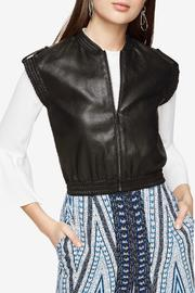 BCBG Max Azria Faux Leather Vest - Product Mini Image